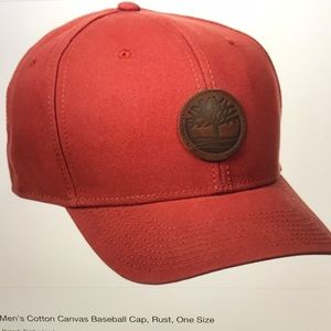 7a1fabb3e86 Timberland Accessories - Timberland Logo Baseball Cap Rust NWT
